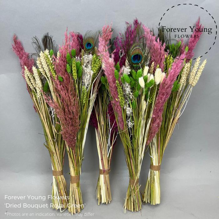 <h4>Dried Bouquet Royal Green</h4>