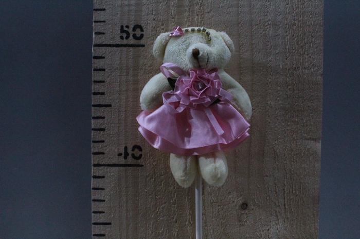 <h4>PLUSH BEAR IN DRESS PINK O/S H45 12PCS 260.5800</h4>