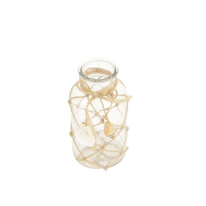 <h4>Sale Bottle fishnet+shell d08*16.5cm</h4>