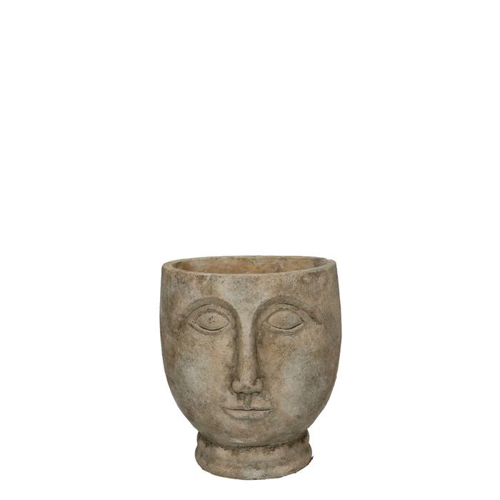 <h4>Ceramics Buddha pot eyes d14*16cm</h4>