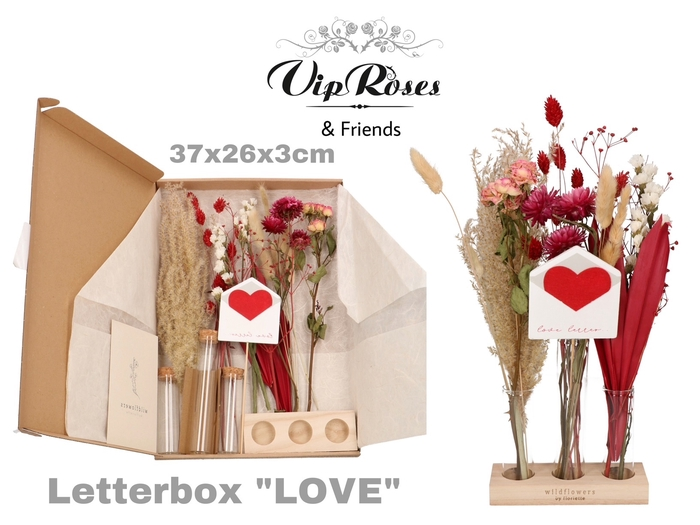 <h4>DRIED LETTERBOX LOVE TUBES</h4>