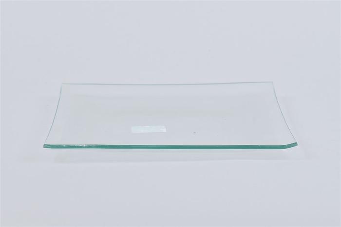 <h4>Glas Schaal Vierkant 20x20x2cm</h4>