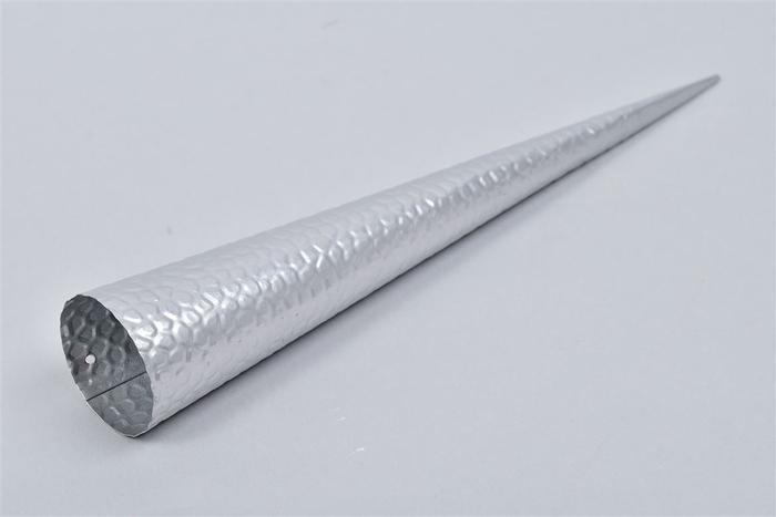 <h4>Waxinepunt Zilver 25cm</h4>