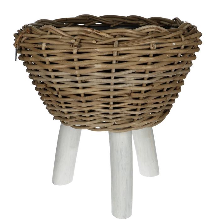 <h4>Baskets Rattan Drypot/foot d40*39cm</h4>