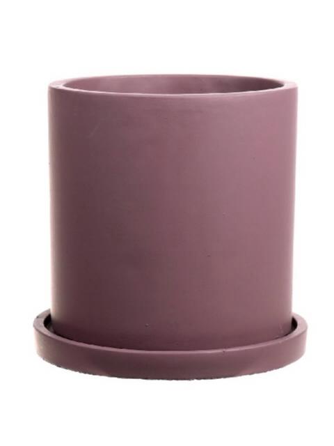 <h4>DF661980647 - Pot Bari d13xh17 old pink</h4>