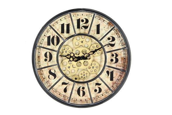 <h4>Clock Gear Ø40cm Black 85097</h4>