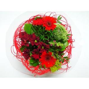Bouquet Sisal Medium Red