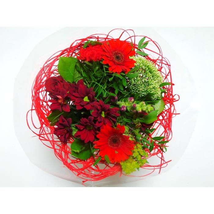 <h4>Bouquet Sisal Medium Red</h4>