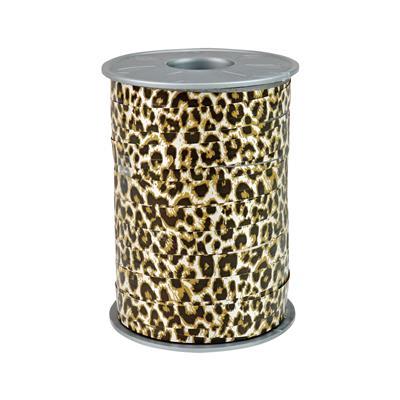 <h4>Krullint 10mm x175m  Safari Leopard 100% recy</h4>