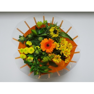 Bouquet 8 stems Orange