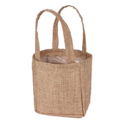 <h4>Bag Natural non-woven 12,5x11,5xH14,5cm</h4>