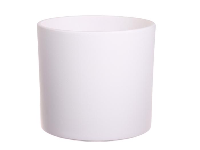 <h4>DF884364200 - Pot Maceo d28xh26 white</h4>