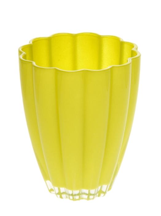 <h4>DF882001800 - Vase Bloom d14xh17 lime</h4>