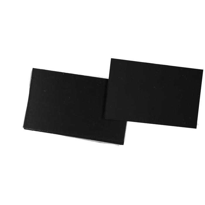 <h4>Labels Kaart zwart d10*6cm x25</h4>