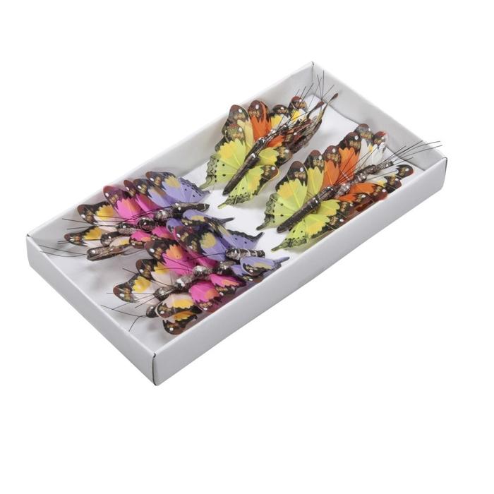 <h4>Voorjaar Vlinder/draad 5cm 6ass.x24</h4>