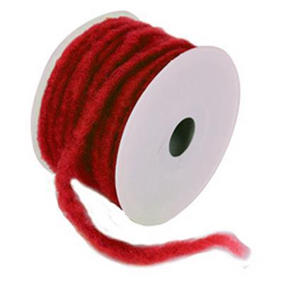 <h4>Rouleau de laine ø7mmx 20mtr rouge  couleurnr 26</h4>