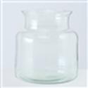 <h4>Vase Eco-Glas, H 20 cm, Klarglas, Transparent glass clear clear</h4>