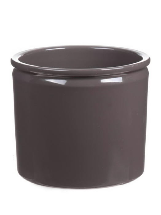 <h4>DF883580747 - Pot Lucca d14xh12.5 stone grey</h4>