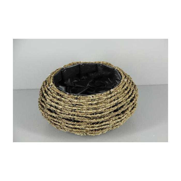 <h4>Planter Basket Caryota Ø31cm</h4>