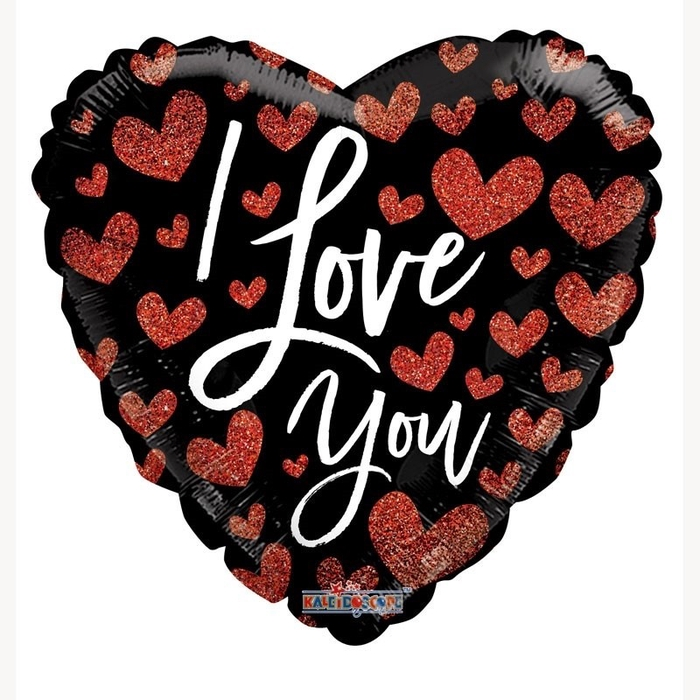 <h4>Party! Balloon I Love You Hearts 45cm</h4>
