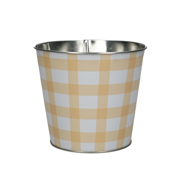 <h4>Zinc Grid pot d12*11cm</h4>