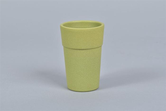 <h4>Keramiek Pot Bamboe Vaas 7x11cm Nm</h4>