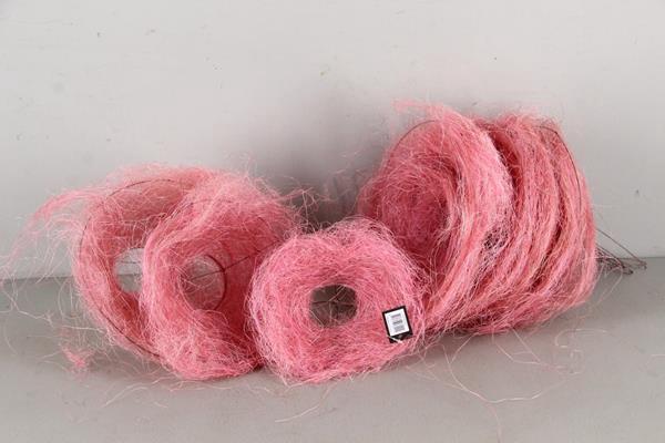 <h4>Bouquet Holder 15+20+25cm Pink</h4>