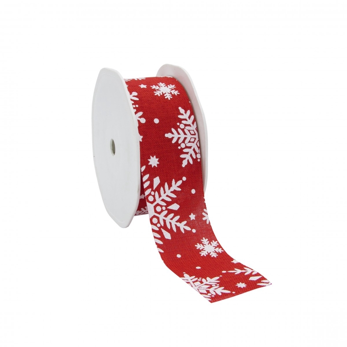 <h4>Christmas Ribbon Snowflake 38mm 15m</h4>