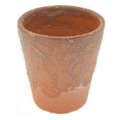 <h4>DF883824900 - Terra pot wax brown 15cm</h4>