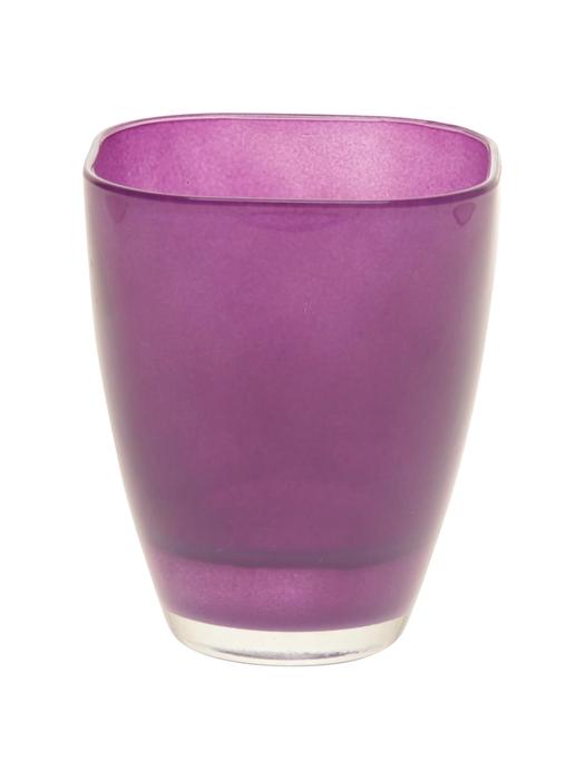 <h4>DF882004700 - Vase Bombay d13.5xh17 dark purple</h4>