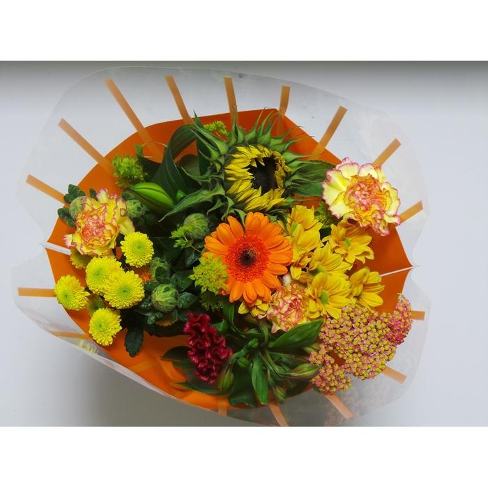 <h4>Bouquet 13 stems Orange</h4>