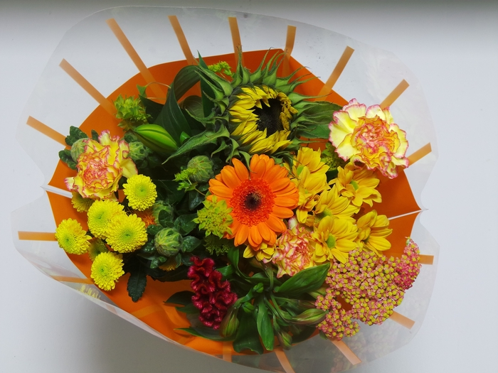<h4>Bouquet 13 stems Orange</h4>