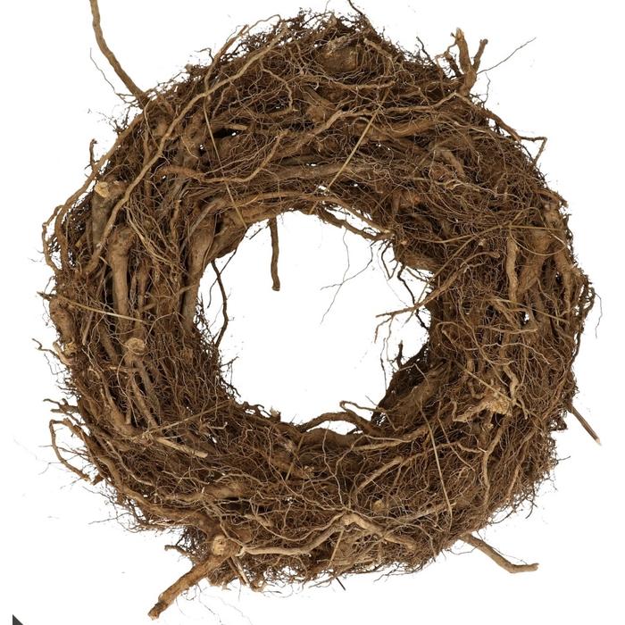 <h4>Wreath d40cm Root</h4>