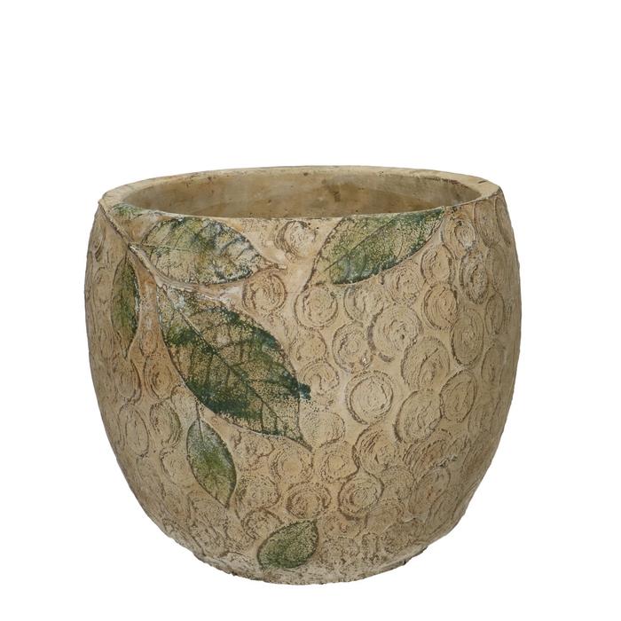 <h4>Ceramics Chestnut pot d17.5*15.5cm</h4>