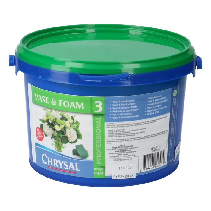 <h4>Verzorging Chrysal Prof.3 poeder 2kg</h4>