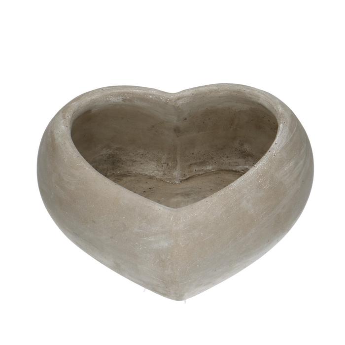 <h4>All Saints Planter heart d25/18*10cm</h4>