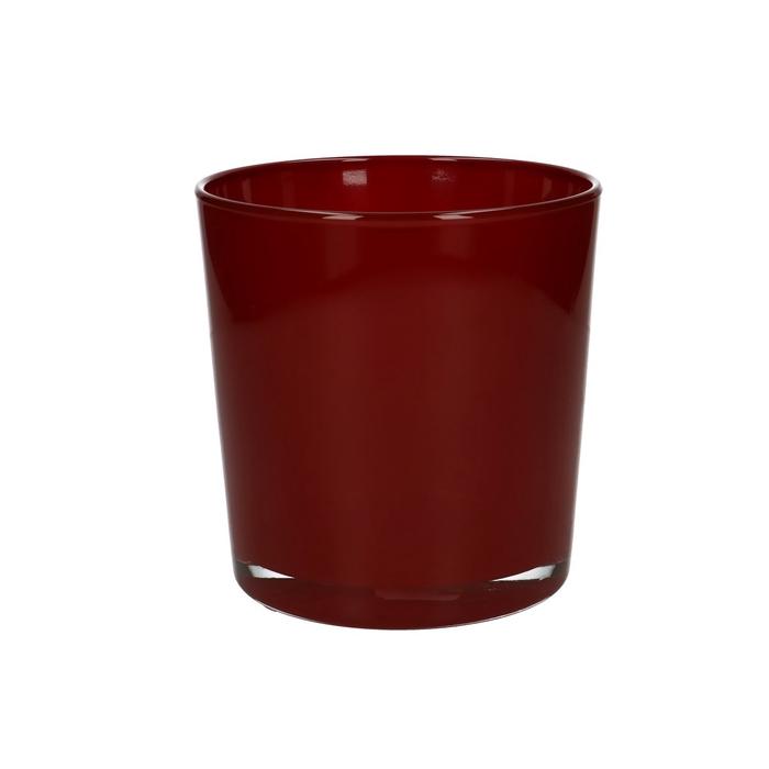 <h4>Glas kleur Pot Monaco d12*13cm</h4>