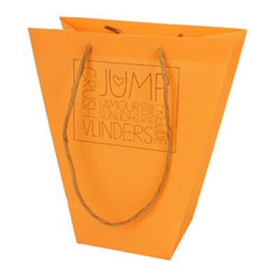 <h4>Bag Words PP 24/12x11xH26cm orange</h4>
