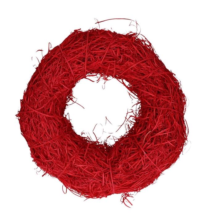<h4>Wreath d40cm Rattan straw</h4>