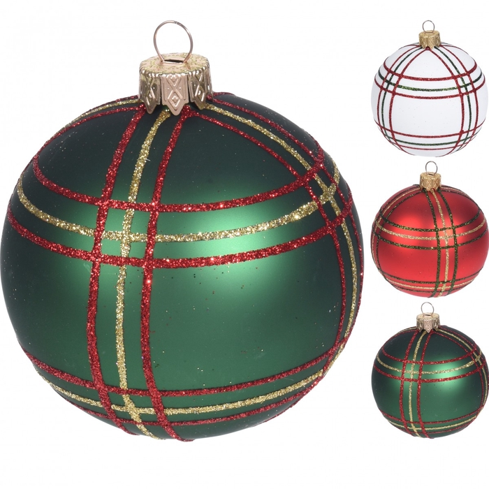 <h4>Christmas bauble Ball deco classic 80mm ass</h4>