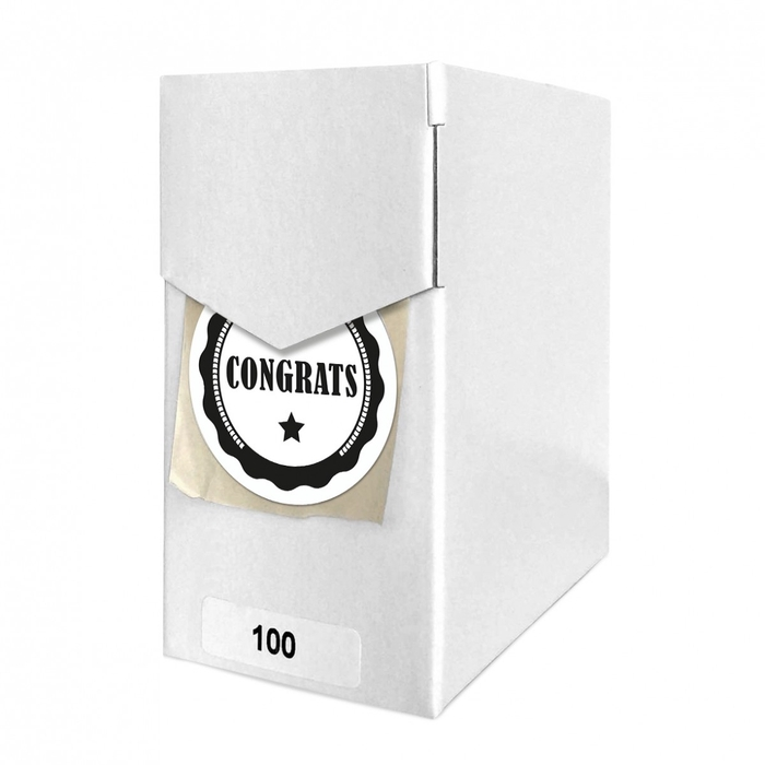 <h4>Labels Sticker 40mm x100 Congrats</h4>