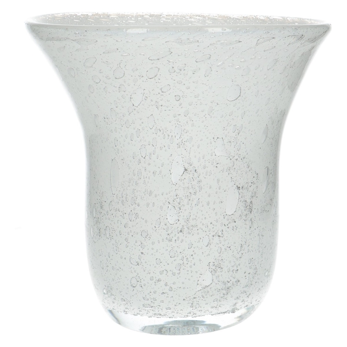 <h4>Glas Fidrio Old Opal vaas d28*25cm</h4>