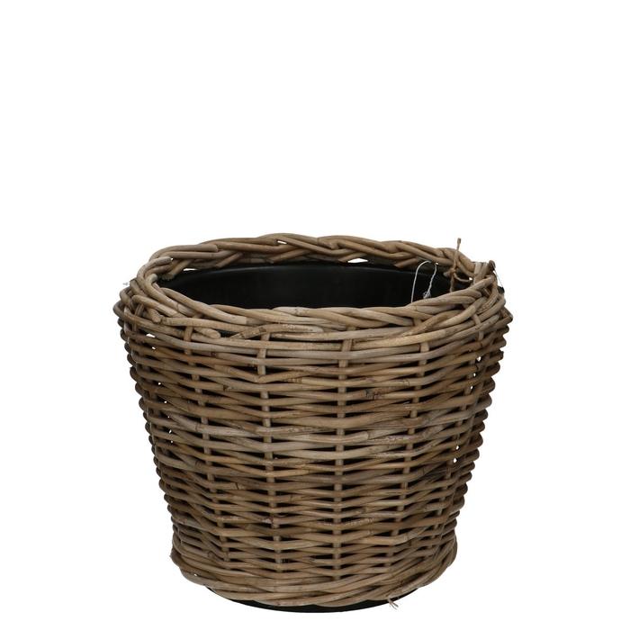 <h4>Baskets Rattan Drypot d29/36*28cm</h4>