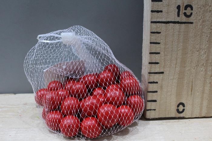 <h4>WOODEN BALLS D2 RED 50PCS 24001</h4>