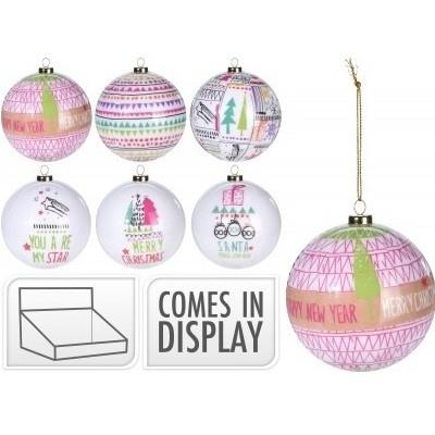 <h4>Christmas bauble Ball deco dessin d70cm ass</h4>
