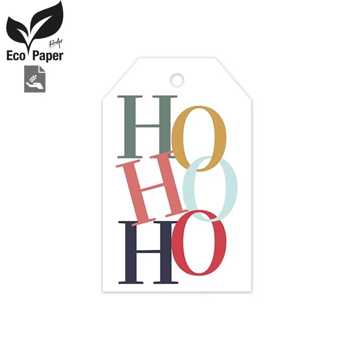 <h4>Christmas Displ.Card HoHoHo 5*8cm x20</h4>