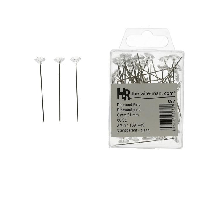 <h4>Pins Diamond/pin  8/51mm x60</h4>