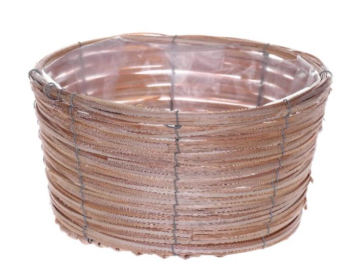 <h4>DF470603200 - Basket Paia d17xh12 natural</h4>