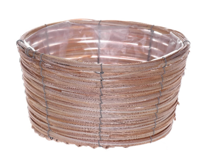 <h4>DF470603200 - Basket Paia d17xh12 natural</h4>