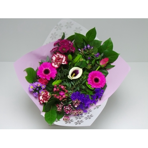 Bouquet Biedermeier Medium  Lilac